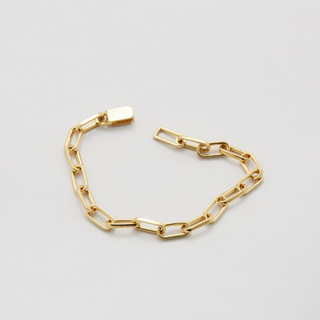 Armkette, short link, gold